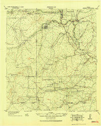 Mikeska Texas Historical topographic map, 1:125000 scale, 30 X 30 Minute, Year 1920