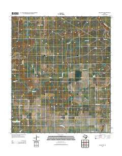 Miles NW Texas Historical topographic map, 1:24000 scale, 7.5 X 7.5 Minute, Year 2013