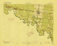 Mission Texas Historical topographic map, 1:62500 scale, 15 X 15 Minute, Year 1916