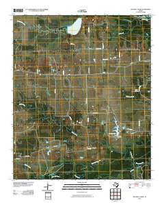 Mitchell Creek Texas Historical topographic map, 1:24000 scale, 7.5 X 7.5 Minute, Year 2010