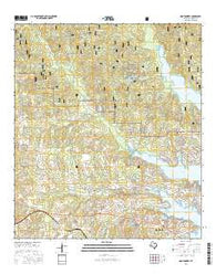 Montgomery Texas Current topographic map, 1:24000 scale, 7.5 X 7.5 Minute, Year 2016