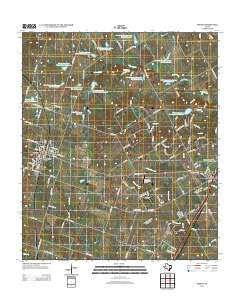 Moody Texas Historical topographic map, 1:24000 scale, 7.5 X 7.5 Minute, Year 2012