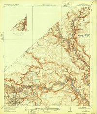 Moonshine Hill Texas Historical topographic map, 1:31680 scale, 7.5 X 7.5 Minute, Year 1920