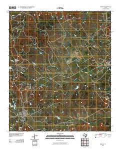 Morgan Texas Historical topographic map, 1:24000 scale, 7.5 X 7.5 Minute, Year 2010