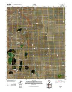 Morse Texas Historical topographic map, 1:24000 scale, 7.5 X 7.5 Minute, Year 2010
