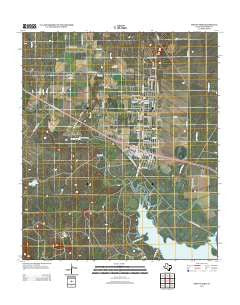 Mount Nebo Texas Historical topographic map, 1:24000 scale, 7.5 X 7.5 Minute, Year 2012