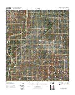 Mud Creek South Texas Historical topographic map, 1:24000 scale, 7.5 X 7.5 Minute, Year 2012
