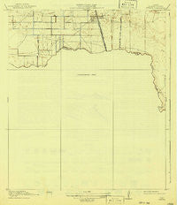 Mykawa Texas Historical topographic map, 1:31680 scale, 7.5 X 7.5 Minute, Year 1920