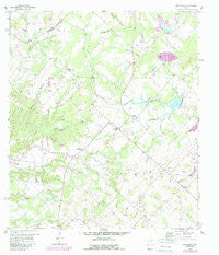 Nechanitz Texas Historical topographic map, 1:24000 scale, 7.5 X 7.5 Minute, Year 1958