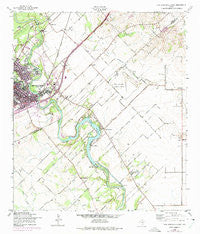 New Braunfels East Texas Historical topographic map, 1:24000 scale, 7.5 X 7.5 Minute, Year 1958