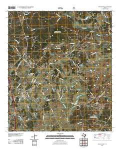New Waverly Texas Historical topographic map, 1:24000 scale, 7.5 X 7.5 Minute, Year 2010