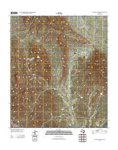 Ninetysix Ranch Texas Historical topographic map, 1:24000 scale, 7.5 X 7.5 Minute, Year 2012
