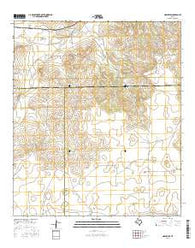 Noelke SW Texas Current topographic map, 1:24000 scale, 7.5 X 7.5 Minute, Year 2016
