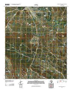 North Fort Hood Texas Historical topographic map, 1:24000 scale, 7.5 X 7.5 Minute, Year 2010