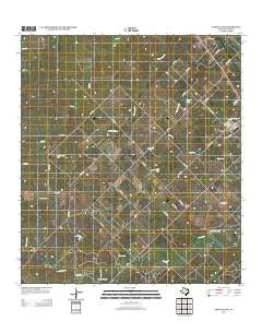 Oakville SW Texas Historical topographic map, 1:24000 scale, 7.5 X 7.5 Minute, Year 2013
