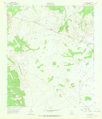Old X Ranch Texas Historical topographic map, 1:24000 scale, 7.5 X 7.5 Minute, Year 1963
