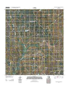 Palo Blanco Tank Texas Historical topographic map, 1:24000 scale, 7.5 X 7.5 Minute, Year 2012