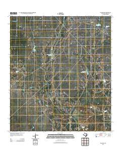 Paloma Texas Historical topographic map, 1:24000 scale, 7.5 X 7.5 Minute, Year 2012