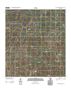 Parrilla Creek NW Texas Historical topographic map, 1:24000 scale, 7.5 X 7.5 Minute, Year 2013