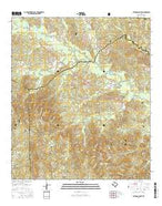Patroon South Texas Current topographic map, 1:24000 scale, 7.5 X 7.5 Minute, Year 2016 from Texas Map Store