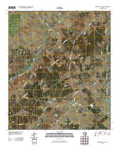 Pearsons Chapel Texas Historical topographic map, 1:24000 scale, 7.5 X 7.5 Minute, Year 2010