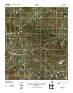 Pecan Wells Texas Historical topographic map, 1:24000 scale, 7.5 X 7.5 Minute, Year 2010