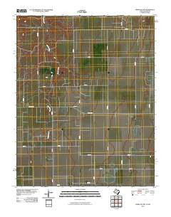 Perryton NW Texas Historical topographic map, 1:24000 scale, 7.5 X 7.5 Minute, Year 2010