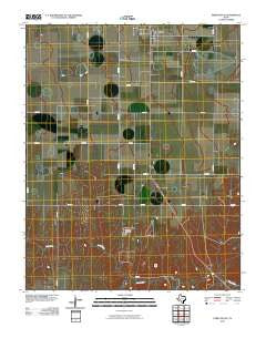 Perryton SE Texas Historical topographic map, 1:24000 scale, 7.5 X 7.5 Minute, Year 2010