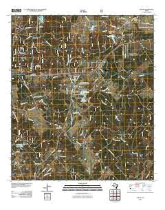 Phelps Texas Historical topographic map, 1:24000 scale, 7.5 X 7.5 Minute, Year 2010