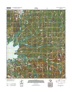 Pineland South Texas Historical topographic map, 1:24000 scale, 7.5 X 7.5 Minute, Year 2012