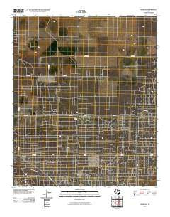 Plains SE Texas Historical topographic map, 1:24000 scale, 7.5 X 7.5 Minute, Year 2010