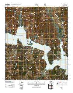 Platt Texas Historical topographic map, 1:24000 scale, 7.5 X 7.5 Minute, Year 2010
