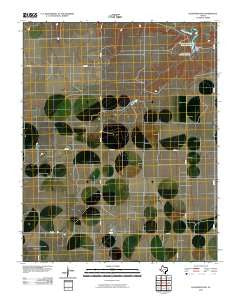 Pleasure Pond Texas Historical topographic map, 1:24000 scale, 7.5 X 7.5 Minute, Year 2010