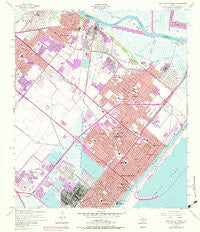 Port Arthur North Texas Historical topographic map, 1:24000 scale, 7.5 X 7.5 Minute, Year 1957