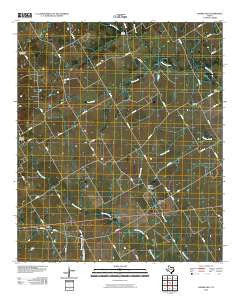 Prairie Hill Texas Historical topographic map, 1:24000 scale, 7.5 X 7.5 Minute, Year 2010
