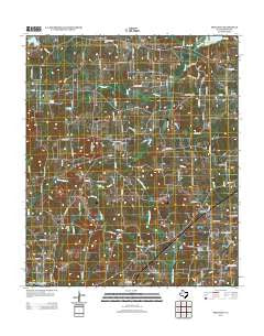 Pritchett Texas Historical topographic map, 1:24000 scale, 7.5 X 7.5 Minute, Year 2012