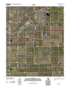 Pullman Texas Historical topographic map, 1:24000 scale, 7.5 X 7.5 Minute, Year 2010