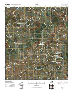 Purdon Texas Historical topographic map, 1:24000 scale, 7.5 X 7.5 Minute, Year 2010