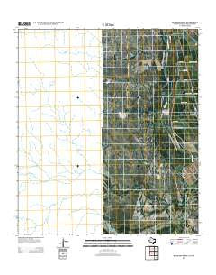 Quemado West Texas Historical topographic map, 1:24000 scale, 7.5 X 7.5 Minute, Year 2012