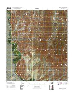 Quinn Creek Texas Historical topographic map, 1:24000 scale, 7.5 X 7.5 Minute, Year 2012