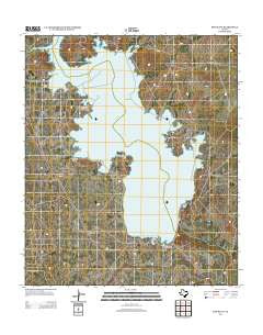 Red Bluff Texas Historical topographic map, 1:24000 scale, 7.5 X 7.5 Minute, Year 2013