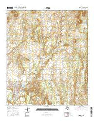 Robert Lee Texas Current topographic map, 1:24000 scale, 7.5 X 7.5 Minute, Year 2016