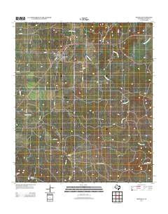 Rochelle Texas Historical topographic map, 1:24000 scale, 7.5 X 7.5 Minute, Year 2012