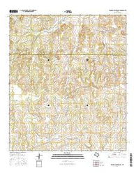 Rocking Chair Ranch Texas Current topographic map, 1:24000 scale, 7.5 X 7.5 Minute, Year 2016