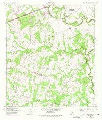 Saint Hedwig Texas Historical topographic map, 1:24000 scale, 7.5 X 7.5 Minute, Year 1958