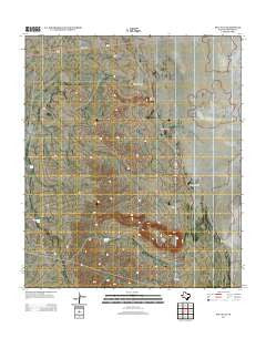 Salt Flat Texas Historical topographic map, 1:24000 scale, 7.5 X 7.5 Minute, Year 2012