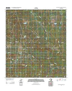San Miguel Ranch Texas Historical topographic map, 1:24000 scale, 7.5 X 7.5 Minute, Year 2013