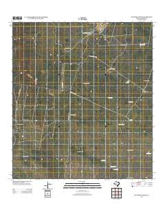 San Pablo Ranch Texas Historical topographic map, 1:24000 scale, 7.5 X 7.5 Minute, Year 2013