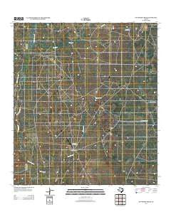 San Pedro Creek Texas Historical topographic map, 1:24000 scale, 7.5 X 7.5 Minute, Year 2012