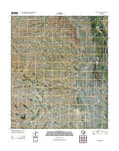 Sand Lake Texas Historical topographic map, 1:24000 scale, 7.5 X 7.5 Minute, Year 2013